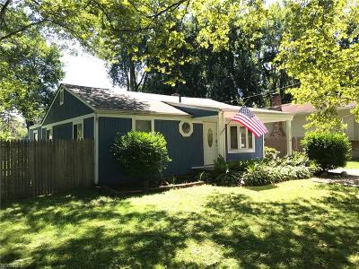 North Ridgeville Single Family Home For Sale: 6021 Olive Ave