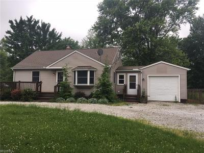 Leroy Single Family Home For Sale: 6770 Brakeman Rd