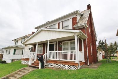 Zanesville Single Family Home For Sale: 1609 Maple Ave