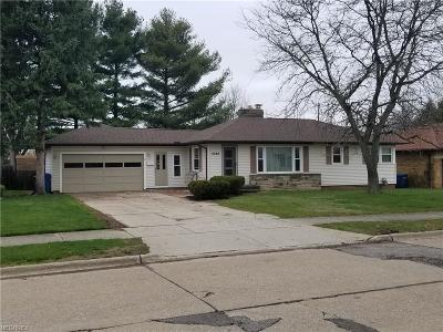Parma Single Family Home For Sale: 5988 Westminster Dr