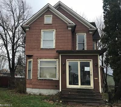 Single Family Home For Sale: 165 West Oregon Ave