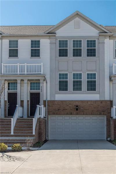 Pepper Pike Condo/Townhouse For Sale: 6380 Park Pointe Ct