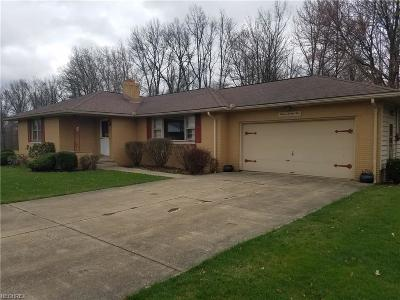 Girard Single Family Home For Sale: 1225 Rose Ave