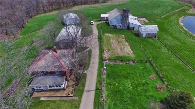 Guernsey County Single Family Home For Sale: 61464 Moores Ln