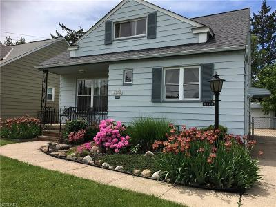 Parma Single Family Home For Sale: 6328 Westminster Dr