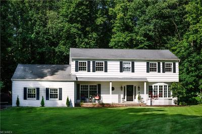 Moreland Hills Single Family Home For Sale: 160 Greentree Rd