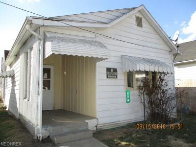 Guernsey County Single Family Home For Sale: 620 South 10th St
