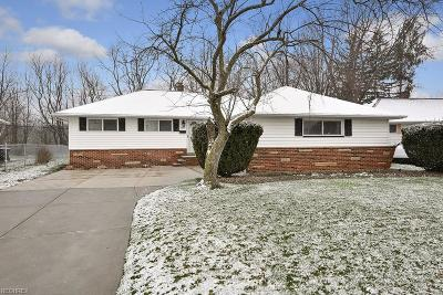Parma Single Family Home For Sale: 7584 Zona Ln