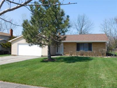 Parma Single Family Home For Sale: 5020 Woodbury Hills Dr