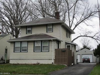Warren Single Family Home For Sale: 1367 Meadowbrook Ave Southeast