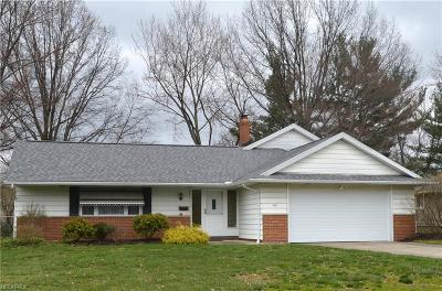 Richmond Heights Single Family Home For Sale: 395 Steven Blvd