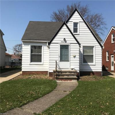 Parma Single Family Home For Sale: 1610 Tuxedo Ave