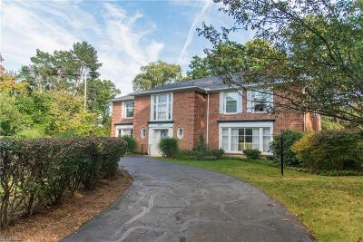Shaker Heights Single Family Home For Sale: 2675 Eaton Rd