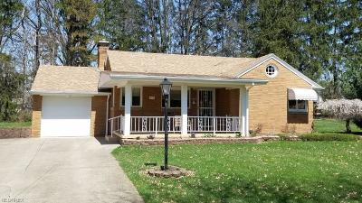 Boardman Single Family Home For Sale: 766 Nellbert Ln