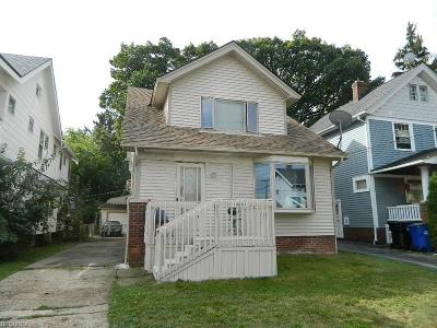 Cleveland Single Family Home For Sale: 10601 Saint Mark Ave