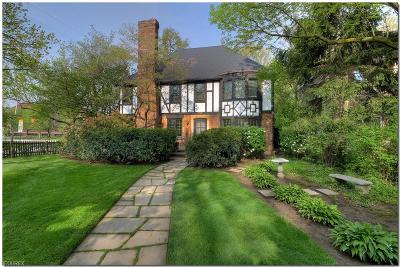 Cleveland Heights Single Family Home For Sale: 2374 Tudor Dr