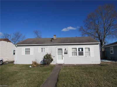 Elyria Single Family Home For Sale: 731 Furnace St