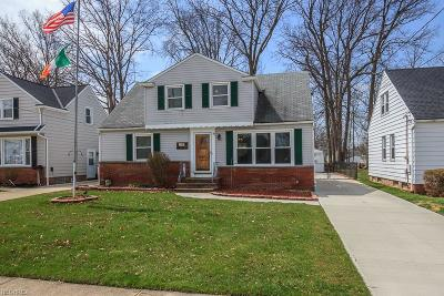 Wickliffe Single Family Home For Sale: 918 Bryn Mawr Ave