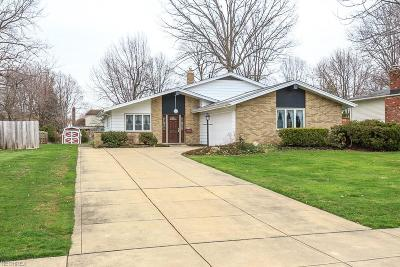 Mentor Single Family Home For Sale: 7085 Hoover Dr