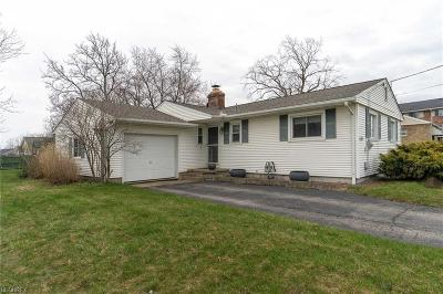 Medina Single Family Home For Sale: 530 North State Rd