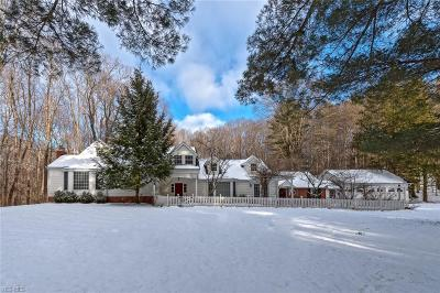 Cuyahoga County Single Family Home For Sale: 6505 Chagrin River Rd