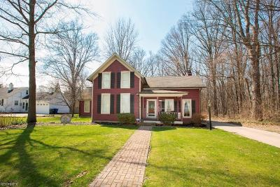 Olmsted Falls Single Family Home For Sale: 7582 Columbia Road