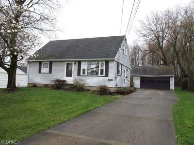Girard Single Family Home For Sale: 2690 Mary Jane Dr