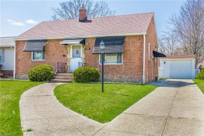 Fairview Park Single Family Home For Sale: 3996 West 223rd St