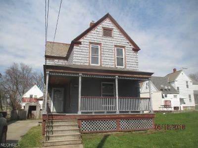 Elyria Single Family Home For Sale: 103 Grant St