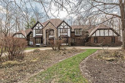 Chagrin Falls Single Family Home For Sale: 100 Easton Ln
