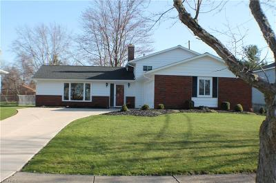 Strongsville OH Single Family Home For Sale: $199,000
