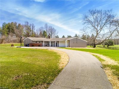 Chesterland Single Family Home For Sale: 12661 Heath Rd