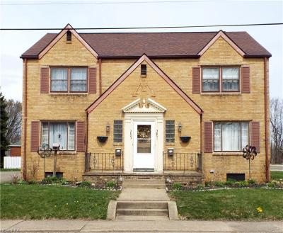 Stark County Multi Family Home For Sale: 3801 - 3803 4th St Northwest