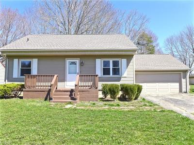 Girard Single Family Home For Sale: 1481 Melbourne Dr