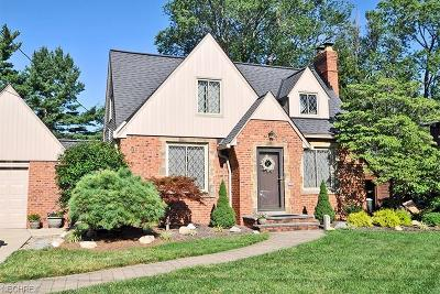 Rocky River Single Family Home For Sale: 2346 Winfield Ave