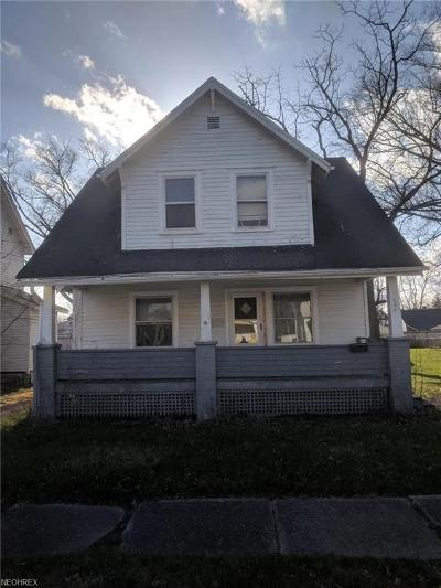 Warren Single Family Home For Sale: 625 Dickey Ave Northwest