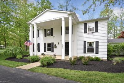 Chagrin Falls Single Family Home For Sale: 6001 Parkland Dr