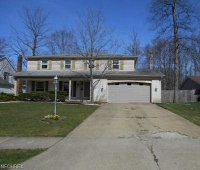 Strongsville Single Family Home For Sale: 14897 Sherwood Dr