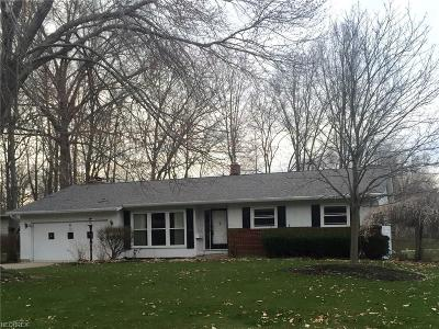 Canfield Single Family Home For Sale: 250 Sleepy Hollow Dr