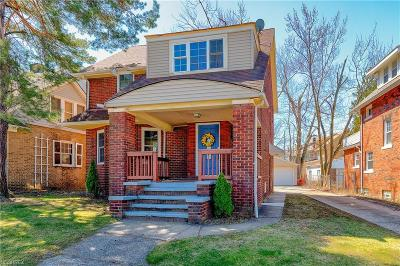 Cleveland Heights Single Family Home For Sale: 14630 Superior Rd