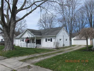 Elyria Single Family Home For Sale: 540 Purdue Ave