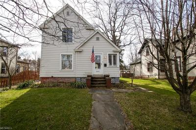 Medina Single Family Home For Sale: 597 South Court St