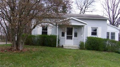 Zanesville OH Single Family Home For Sale: $41,900