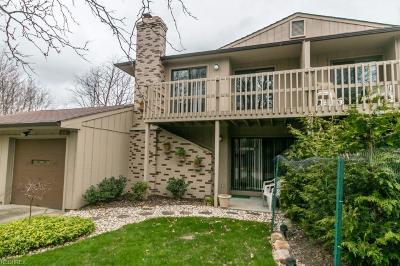North Royalton Condo/Townhouse For Sale: 7405 Creekwood Dr #11B