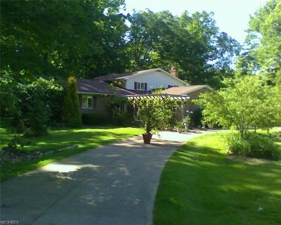 Lake County Single Family Home For Sale: 8160 Hermitage Rd