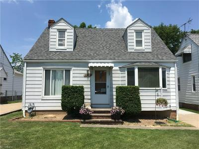 Parma Single Family Home For Sale: 4922 Montauk Ave