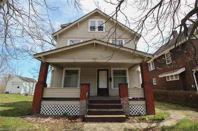 Youngstown Single Family Home For Sale: 2123 Logan Ave