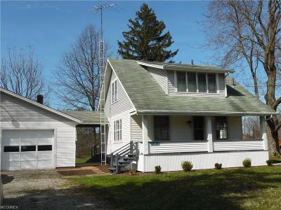 Single Family Home For Sale: 20800 Courtney Rd