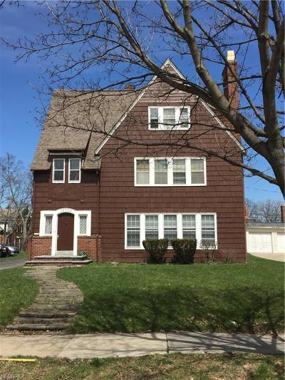 Shaker Heights Multi Family Home For Sale: 18529 Winslow Rd