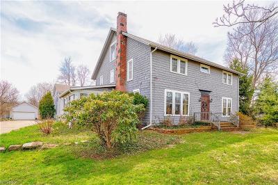 Chagrin Falls Single Family Home For Sale: 8885 Washington St